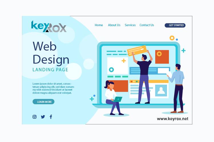 web design keyrox 1