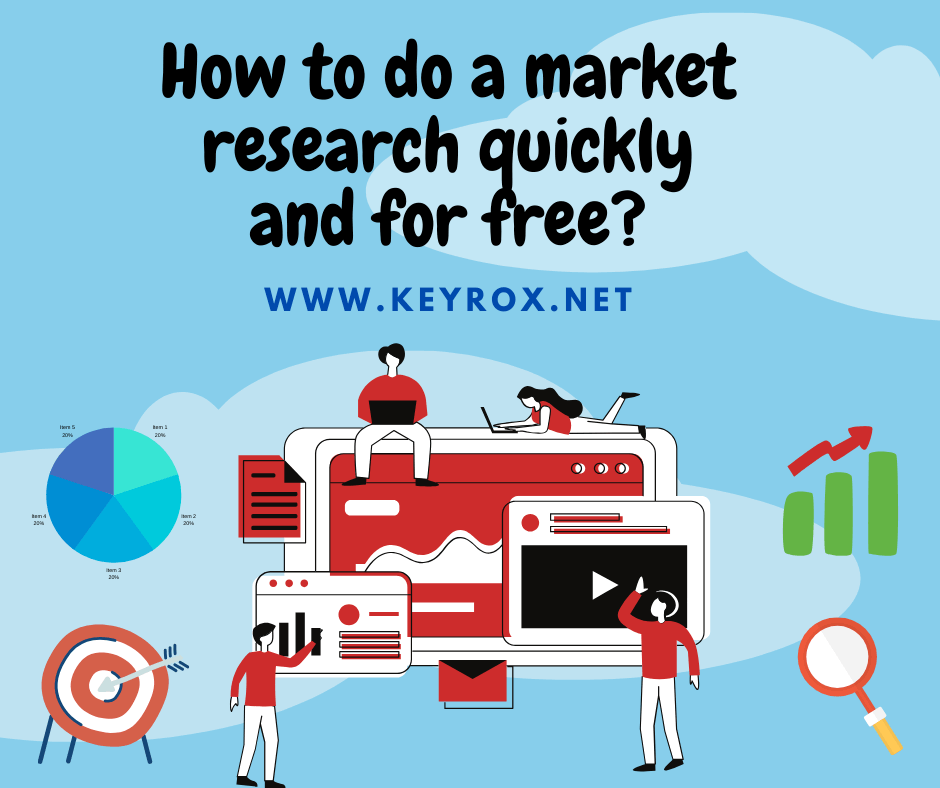 How to do a market research quickly and for free