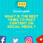 Success guide: what is the best time to post content on social media in 2020?